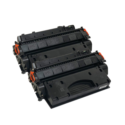 Remanufactured Toner Cartridge Replacement for HP 80X 80A CF280A (2 Pack)