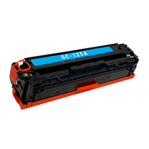 Remanufactured Toner Cartridge Replacement for HP 125A Cyan CB541A