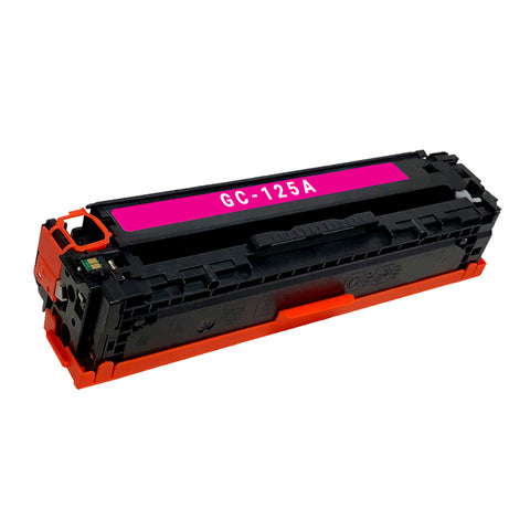 Remanufactured Toner Cartridge Replacement for HP 125A Magenta CB543A