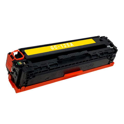 Remanufactured Toner Cartridge Replacement for HP 125A Yellow CB542A