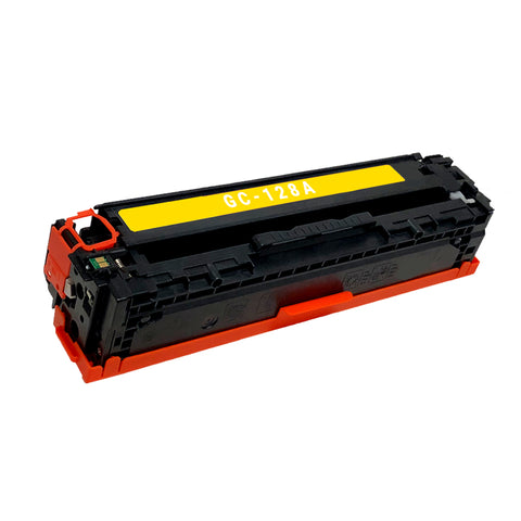 Remanufactured Toner Cartridge Replacement for HP 128A CE322A