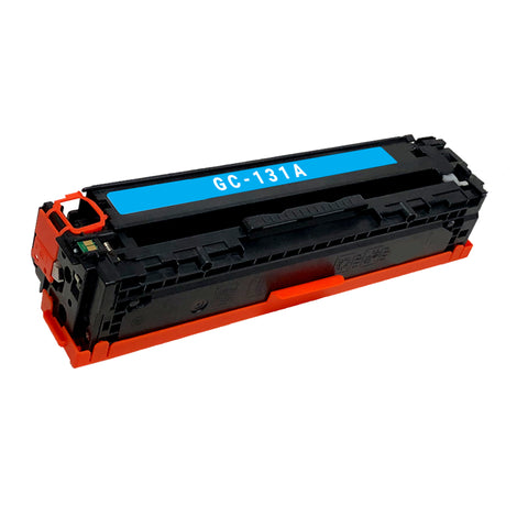 Remanufactured Toner Cartridge Replacement for HP 131A Cyan CF211A