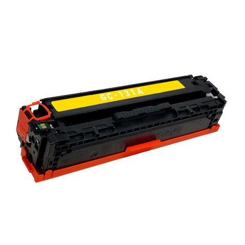 Remanufactured Toner Cartridge Replacement for HP 131A Yellow CF212A