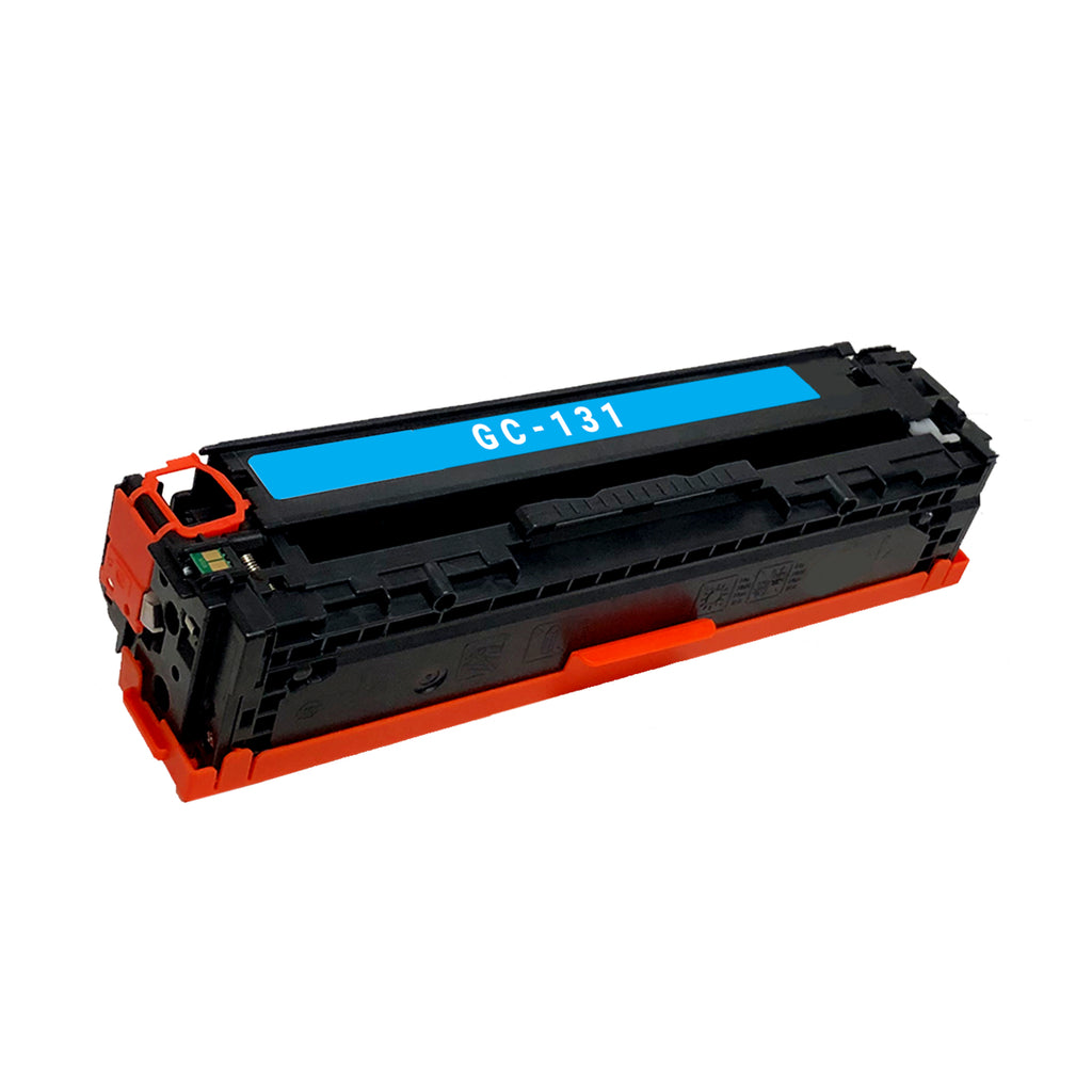 Remanufactured Toner Cartridge Replacement for Canon 131 Cyan 6271B001AA