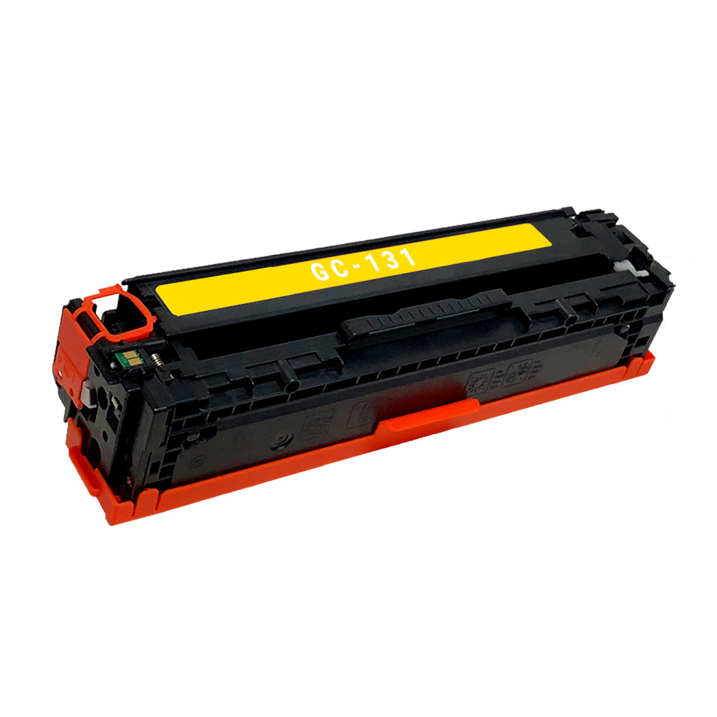 Remanufactured Toner Cartridge Replacement for Canon 131 Yellow 6269B001AA
