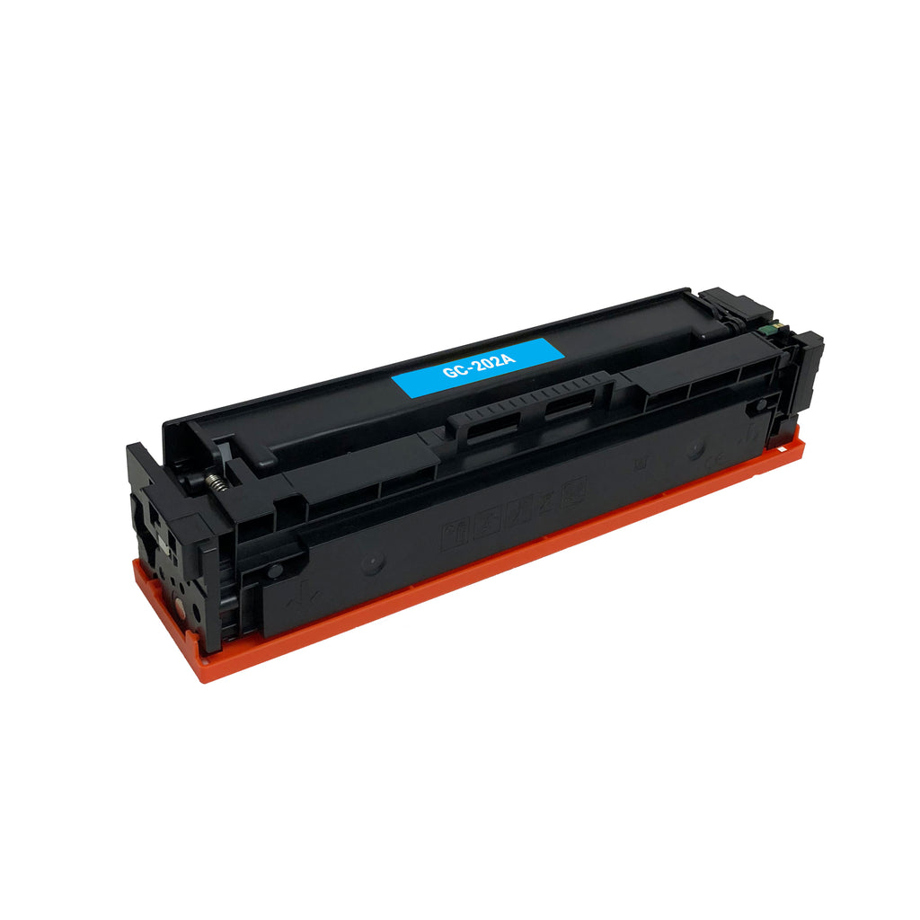 Remanufactured Toner Cartridge Replacement for HP 202A Cyan CF501A