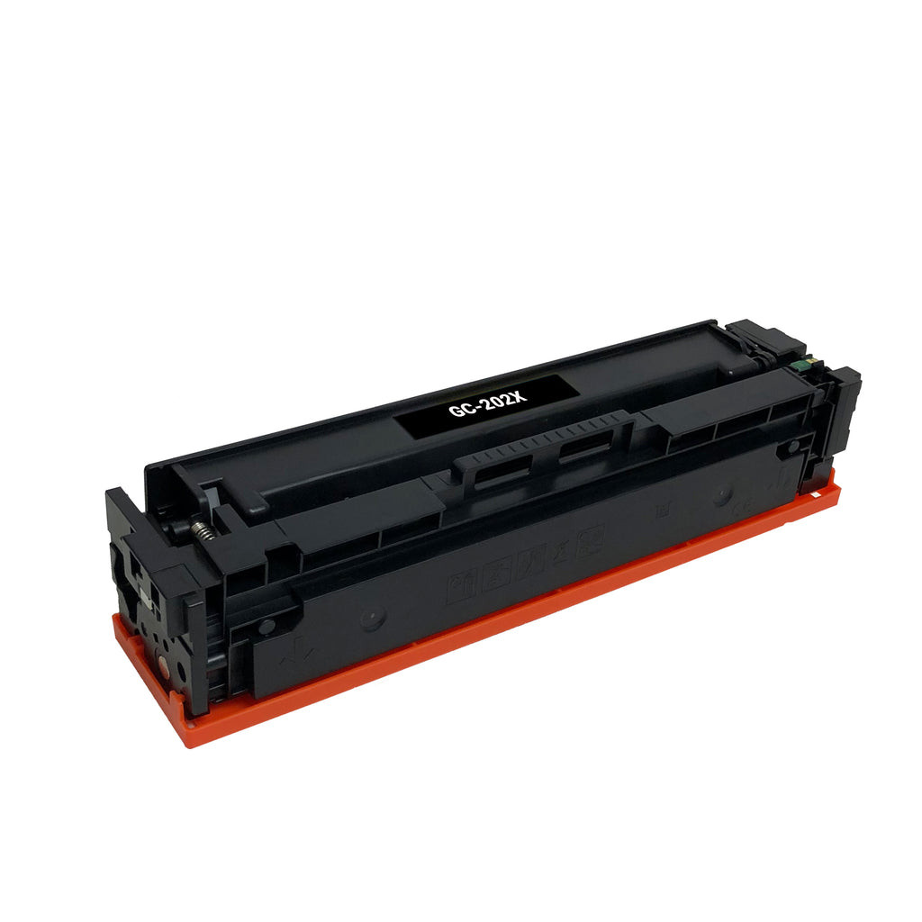 Remanufactured Toner Cartridge Replacement for HP 202X Black CF500X