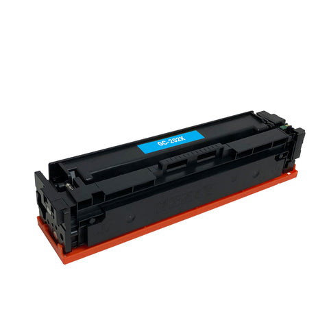 Remanufactured Toner Cartridge Replacement for HP 202X Cyan CF501X