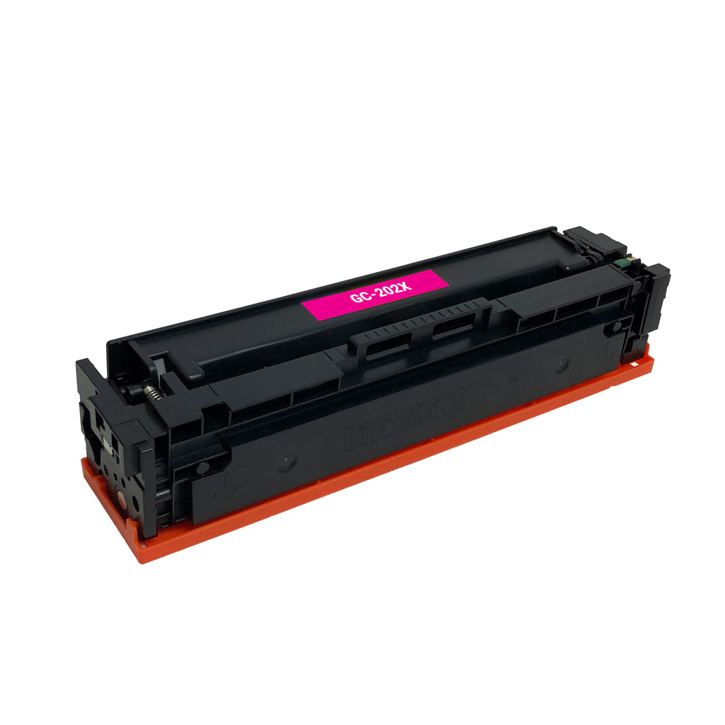 Remanufactured Toner Cartridge Replacement for HP 202X Magenta CF503X