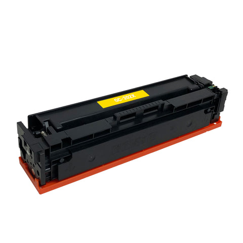 Remanufactured Toner Cartridge Replacement for HP 202X Yellow CF502X