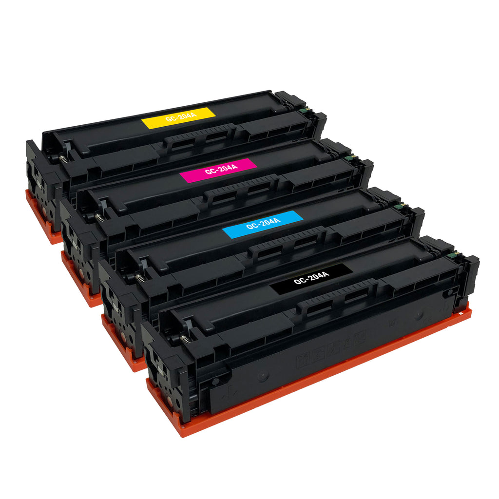 Remanufactured Toner Cartridge Replacement for HP 204A CF510A CF511A CF512A CF513A (4 PACK)