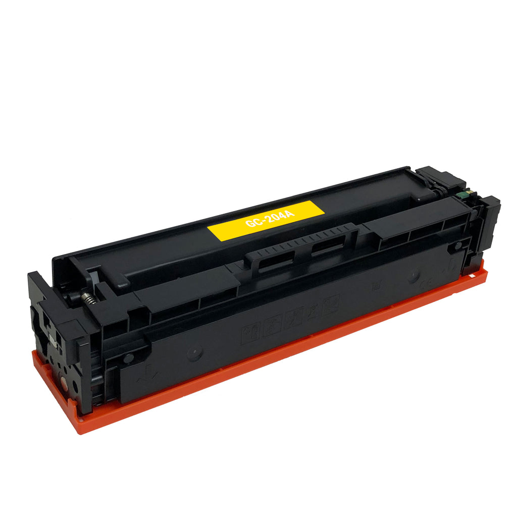 Remanufactured Toner Cartridge Replacement for HP 204A Yellow CF512A