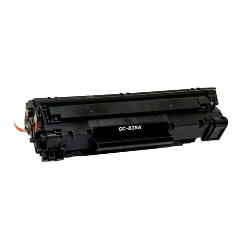 Remanufactured Toner Cartridge Replacement for HP 35A CB435A