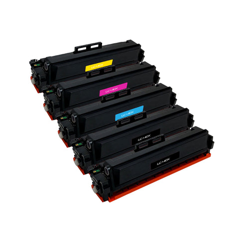 Remanufactured Toner Cartridge Replacement for HP CF410A CF410X CF411X CF412X CF413X (5 PACK)