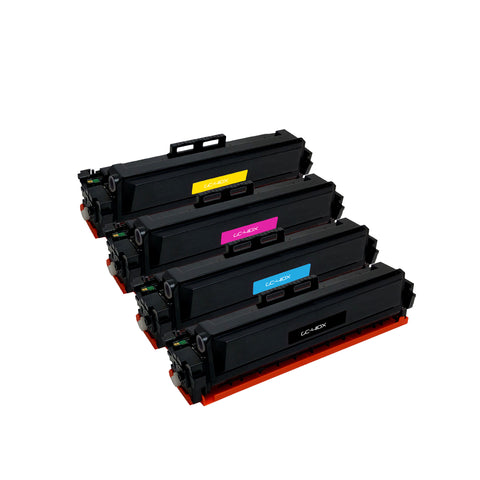 Remanufactured Toner Cartridge Replacement for HP CF410A CF410X CF411X CF412X CF413X (4 PACK)