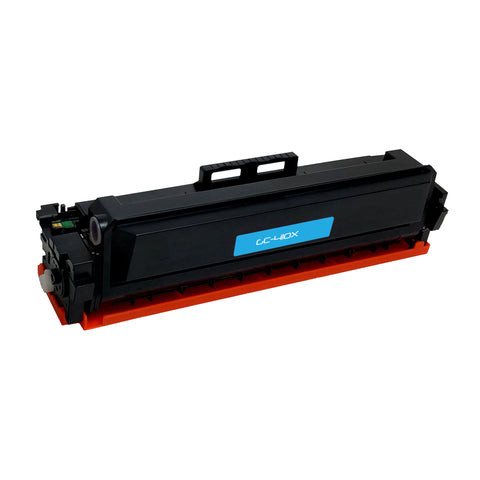 Remanufactured Toner Cartridge Replacement for HP CF411X Cyan