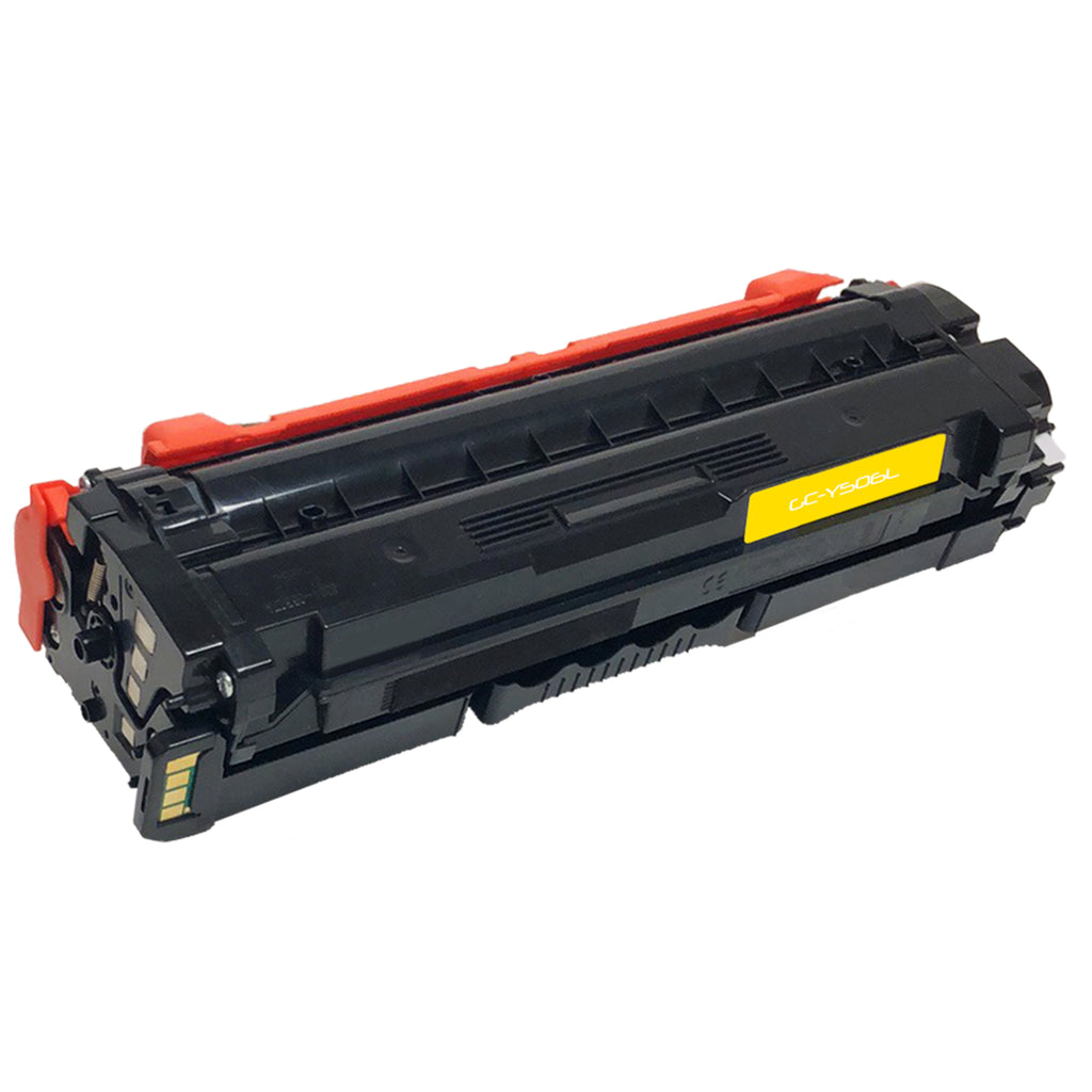 Compatible Toner Cartridge Replacement for Samsung CLT-Y506L