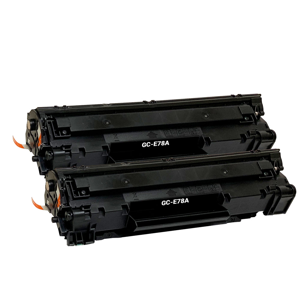 Remanufactured Toner Cartridge Replacement for HP 78A CE278A (2 PACK)