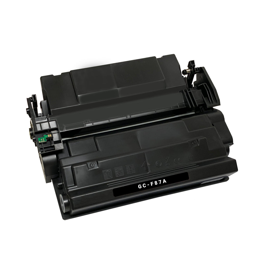 Remanufactured Toner Cartridge Replacement for HP 87A CF287A