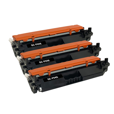 Remanufactured Toner Cartridge Replacement for HP 94X CF294X (3 PACK)