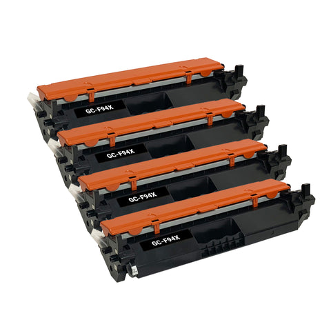 Remanufactured Toner Cartridge Replacement for HP 94X CF294X (4 PACK)