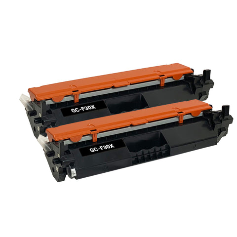 Remanufactured Toner Cartridge Replacement for HP 30X CF230X (2 PACK)