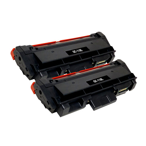 Compatible Toner Cartridge Replacement for Samsung MLT-D118L (2 PACK)