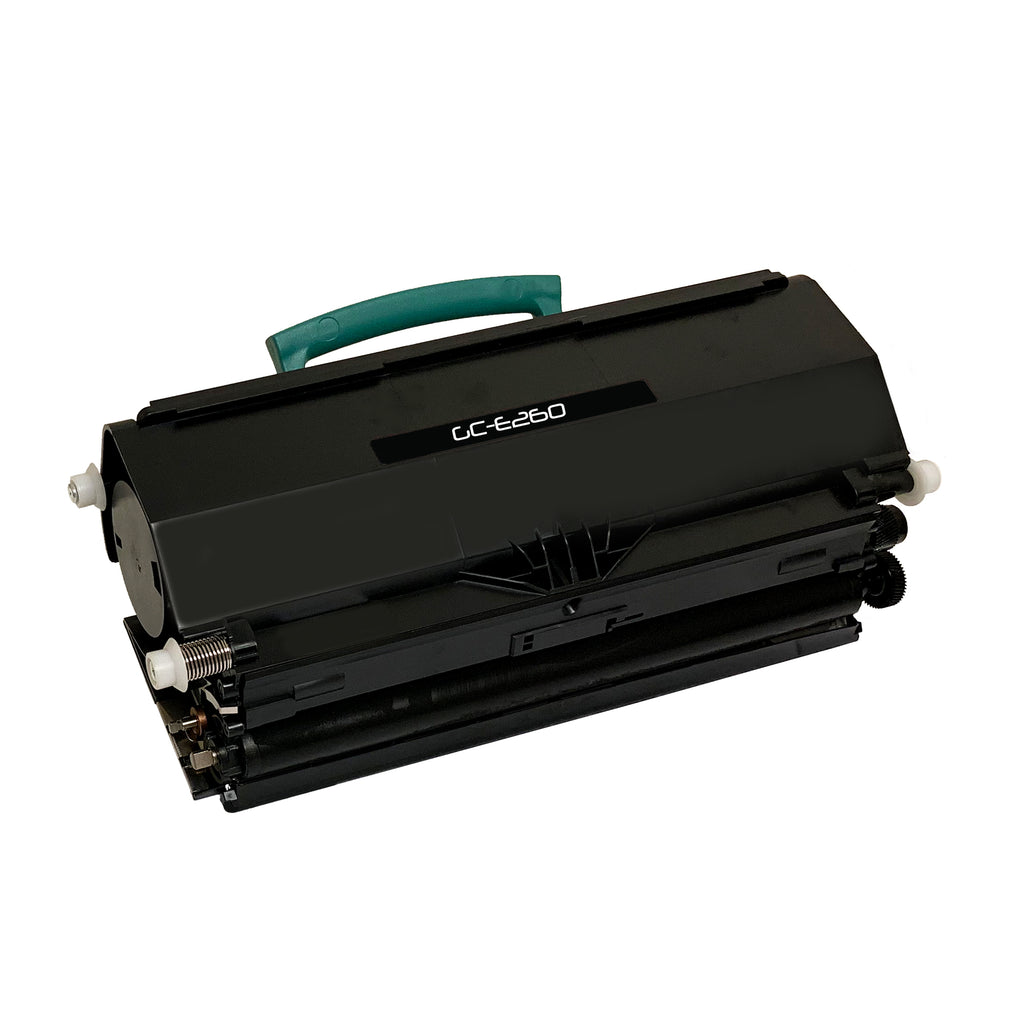 Remanufactured Toner Cartridge Replacement for Lexmark E260A11A