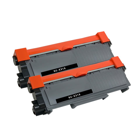 Compatible Toner Cartridge Replacement for Dell 593-BBKD PVTHG P7RMX (2 PACK)