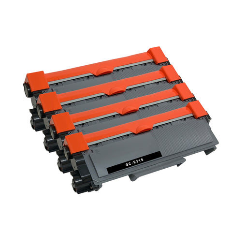 Compatible Toner Cartridge Replacement for Dell 593-BBKD PVTHG P7RMX (4 PACK)