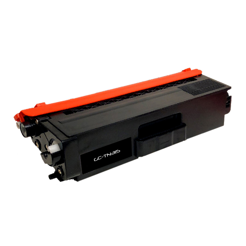 Compatible Brother TN315 (TN-315BK) High Yield Black Laser Toner Cartridge