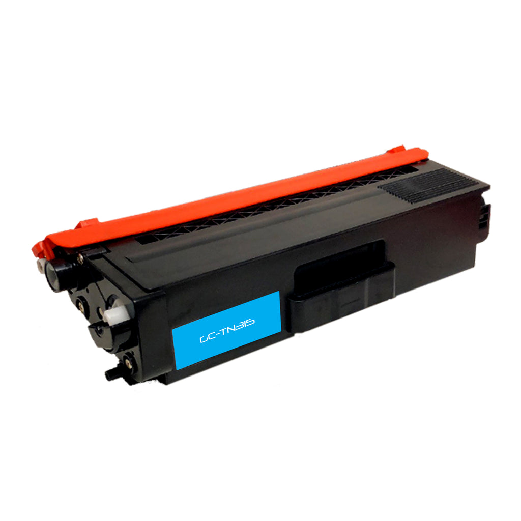 Compatible Brother TN315 (TN-315C) High Yield Cyan Laser Toner Cartridge