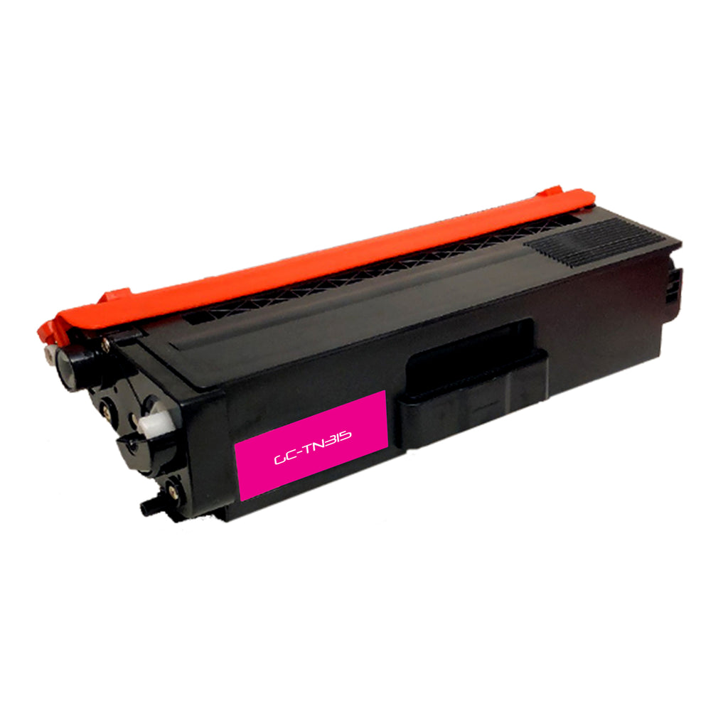 Compatible Brother TN315 (TN-315M) High Yield Magenta Laser Toner Cartridges