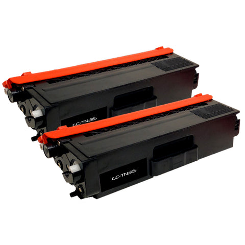 Compatible Toner Cartridge Replacement for Brother TN-315 TN315 TN-315BK TN315BK (2 PACK)