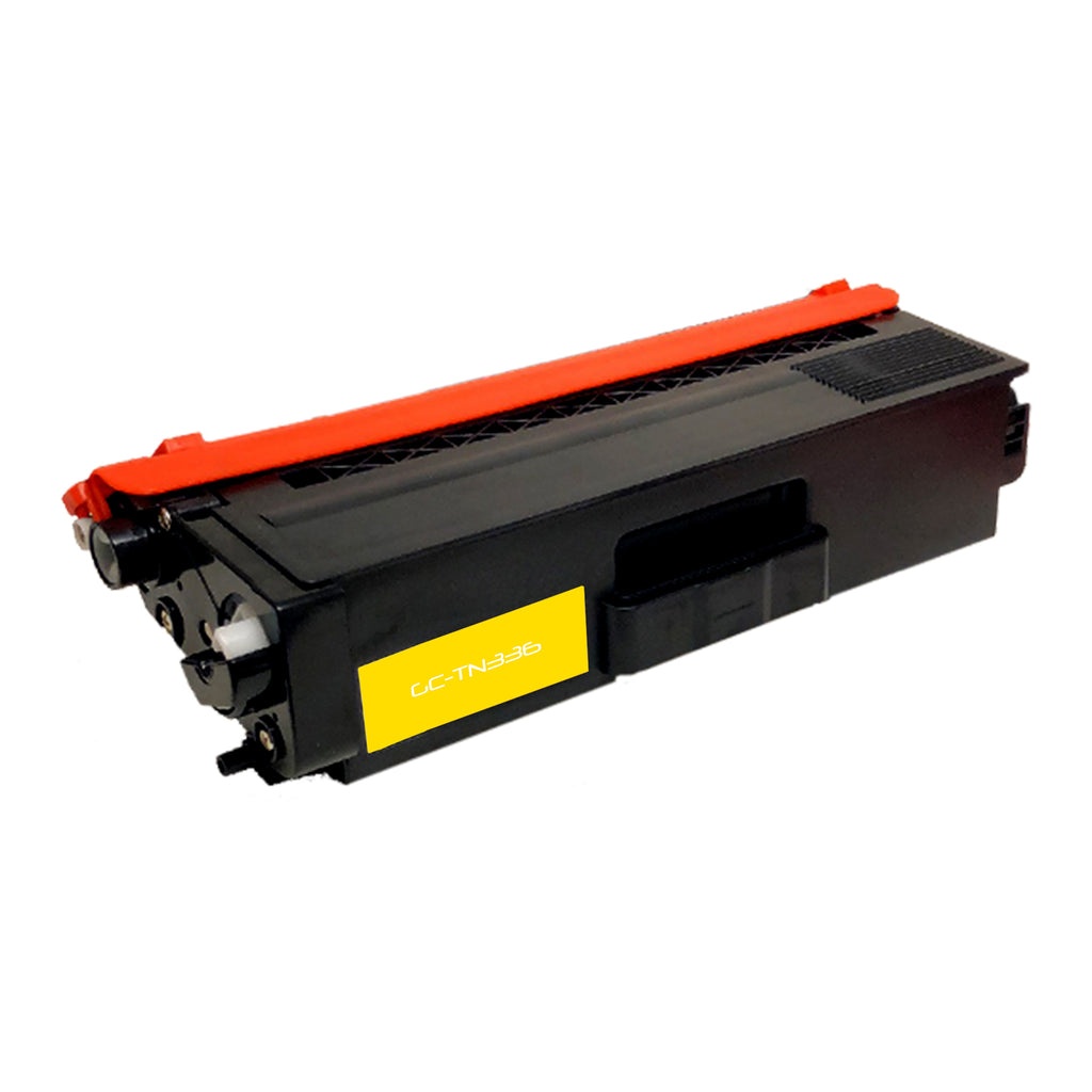 Compatible Toner Cartridge Replacement for Brother TN-336 TN336 TN-336Y TN336Y