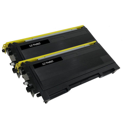 Compatible Toner Cartridge Replacement for Brother TN-350 TN350 (2 PACK)