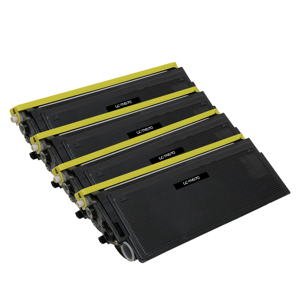 Compatible Toner Cartridge Replacement for Brother TN-570 TN570 (4 Pack)