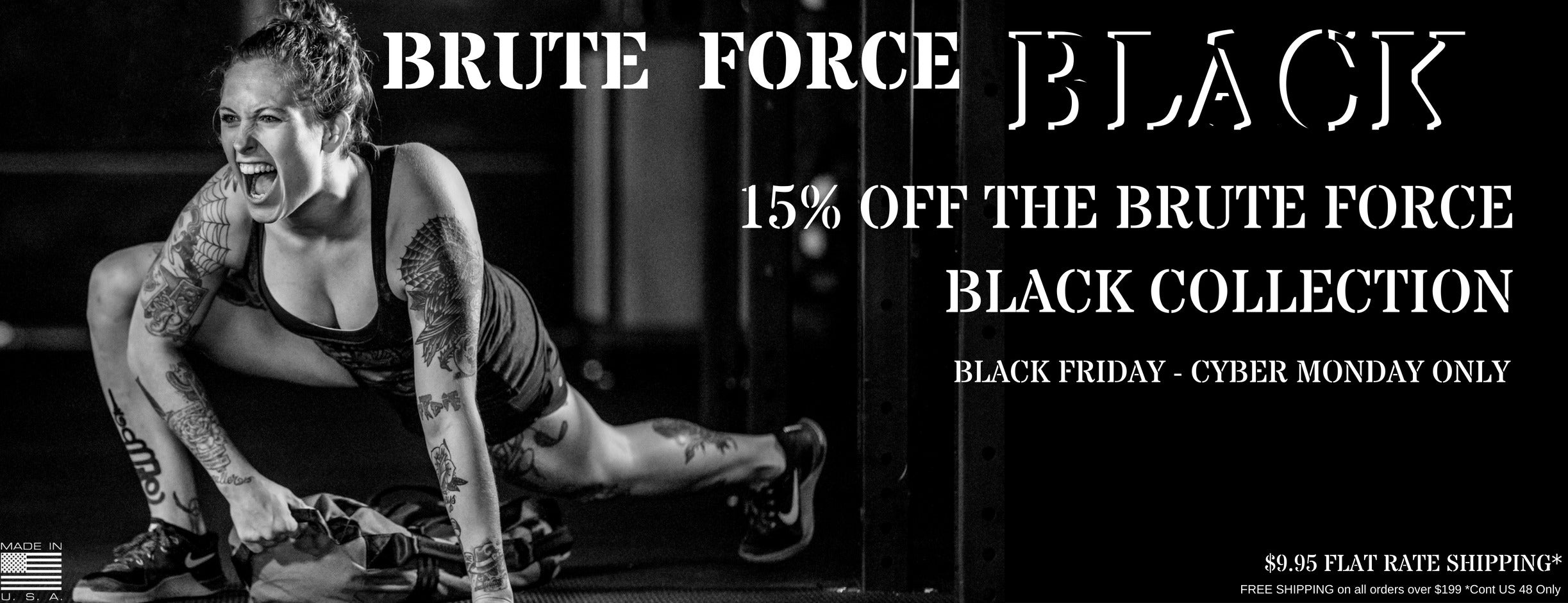 Brute Force Black Collection