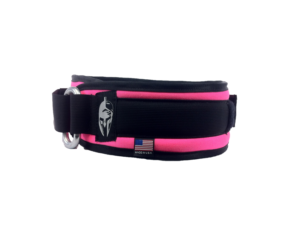 Brute Force Competition Weight Lifting Belt | Hot Pink