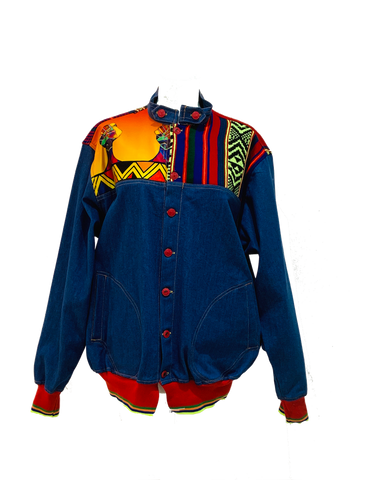 Ndebele BTB Denim Jacket