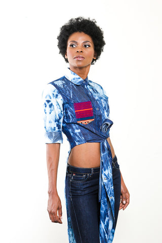 Kurta Denim Shirt