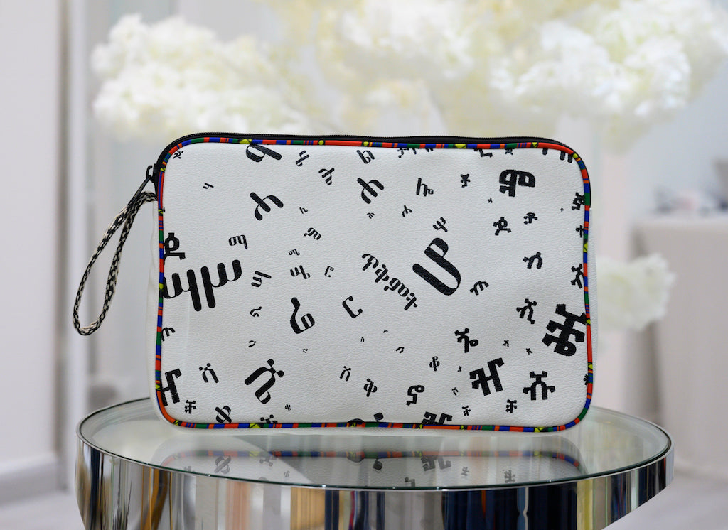 "Fidel 13"" Laptop Sleeve White"
