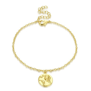 Praying Mother Bracelet in 18K Gold Plated