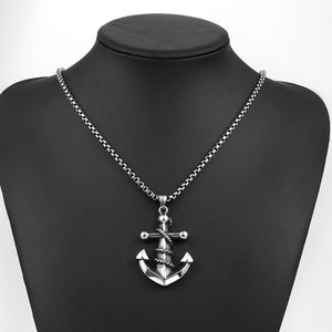 Anchor Necklace in Stainless Steel