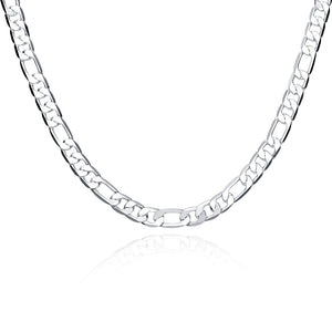 Father's Day Gift Modern Cuban Figaro Link Chain Necklace