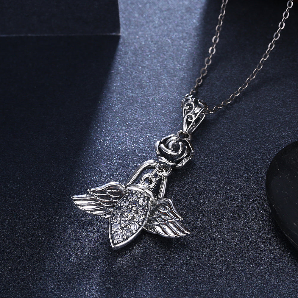 Wings of an Angel Sterling Silver Necklace