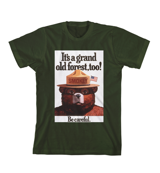 GRAND OLD FOREST TEE - Forest Green