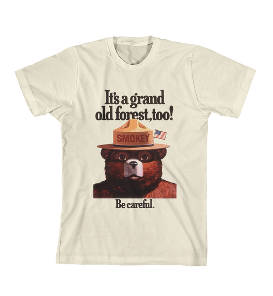 GRAND OLD FOREST TEE - Natural