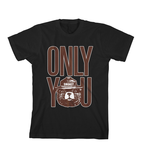 ONLY YOU #1 TEE - Black
