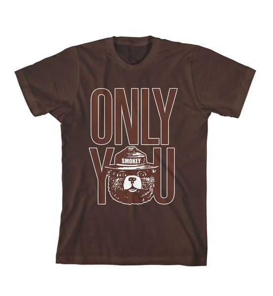 ONLY YOU #1 TEE - Dark Chocolate